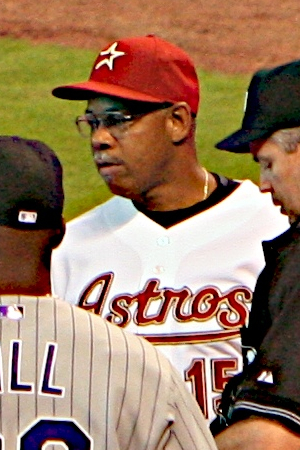 Now coaching with the Houston Astros, Cecil Cooper was a five-time All-Star as a player.