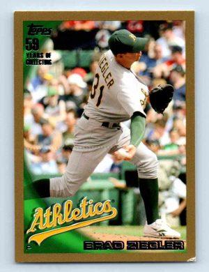 Topps baseball card of Brad Ziegler