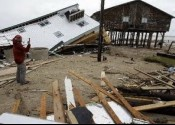 Hurricane Ike toppled homes and leveled structures in the Surfside