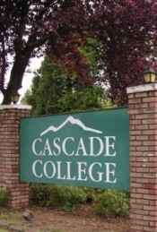 Officials announced today that Cascade College in Portland
