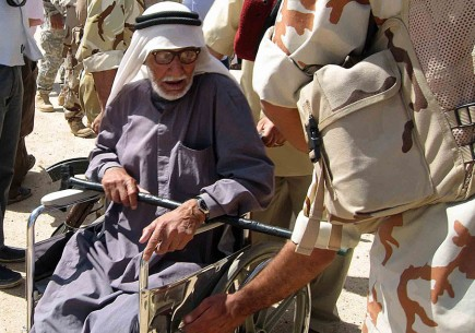 A man in Najaf