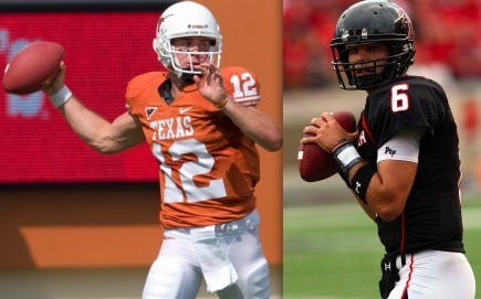 Texas quarterback Colt McCoy and Texas Tech quarterback Graham Harrell - two of the top candidates for the Heisman Trophy - share more than passing prowess. Both have deep Church of Christ roots.