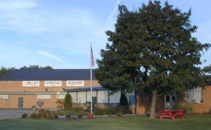 The campus of Valley Christian Academy in Burton