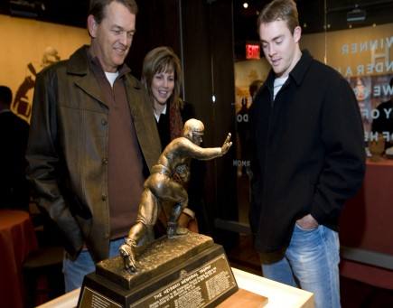 Colt McCoy and his parents