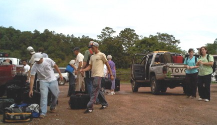 U.S. church members working with Mission Lazarus in Choluteca