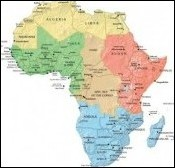 Africa can be divided into five distinct regions: North