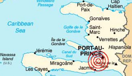 A 7.0-magnitude earthquake struck about 10 miles southwest of Haiti's capital