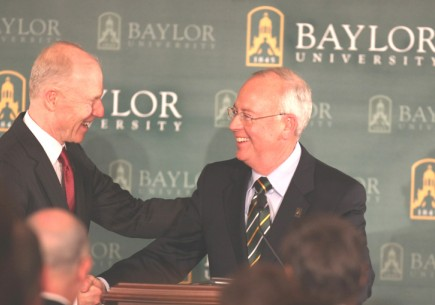 New Baylor University President Kenneth Starr