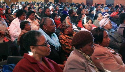 More than 500 women from Churches of Christ in South Africa attended a Women's Day event in Johannesburg. – PHOTO BY ERIK TRYGGESTAD