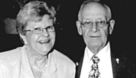 Bernie Crum (pictured with his wife