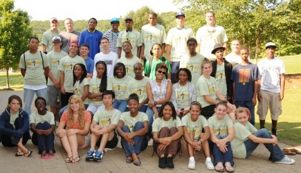 Thirty-six young people and one adult from Arlington Christian School in Fairburn
