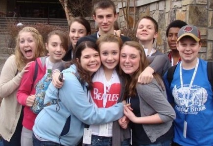 New England teens enjoy a trip to the Winterfest youth rally in Gatlinburg
