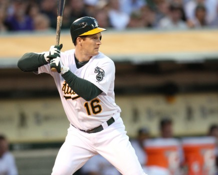 Josh Willingham is Oakland's left fielder and cleanup hitter. – PHOTO BY MICHAEL ZAGARIS