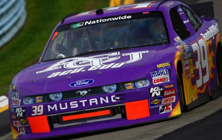 Abilene Christian University in Texas sponsored a NASCAR Nationwide Series vehicle when driver Casey Roderick raced in the recent Zippo 200 at Watkins Glen International in New York. Some 40