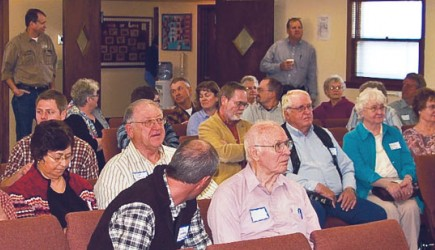 Participants in the 45th annual Bismarck Church Leaders Workshop came from Colorado