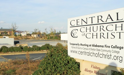 Where the Central Church of Christ in Tuscaloosa