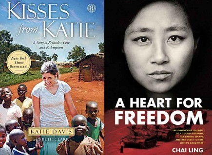 """Kisses frtom Katie and """"A Heart For Freedom"""""""