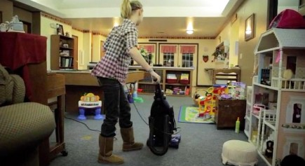 Basic household chores help prepare residents of Hope Harbor Children's Home for responsibilities later in life.