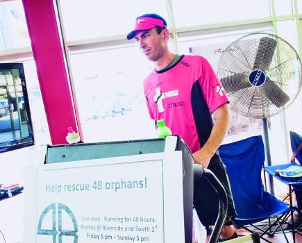 Ultra-marathoner Ryan Beard