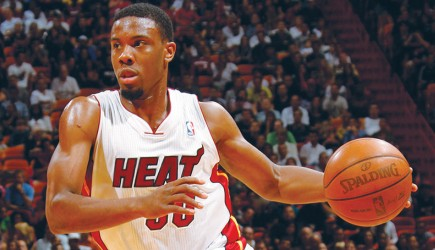 Norris Cole brings the Heat in Miami but makes time for church and inspires young believers. – nba photo
