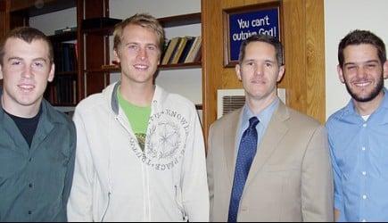 Christian education director Stewart Brackin