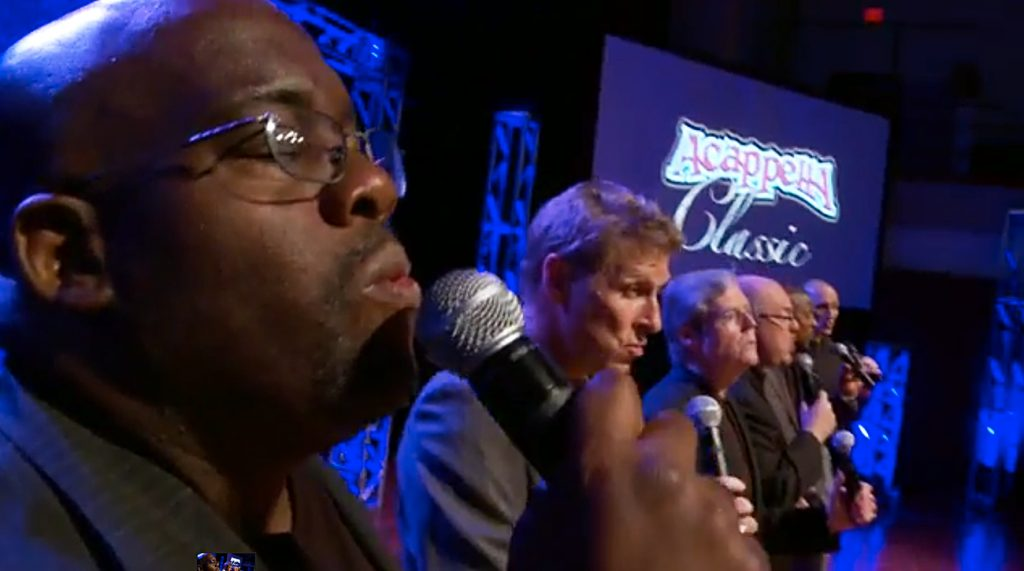 """Members of Acappella rehearse """"Sweet Fellowship"""" in Nashville"""