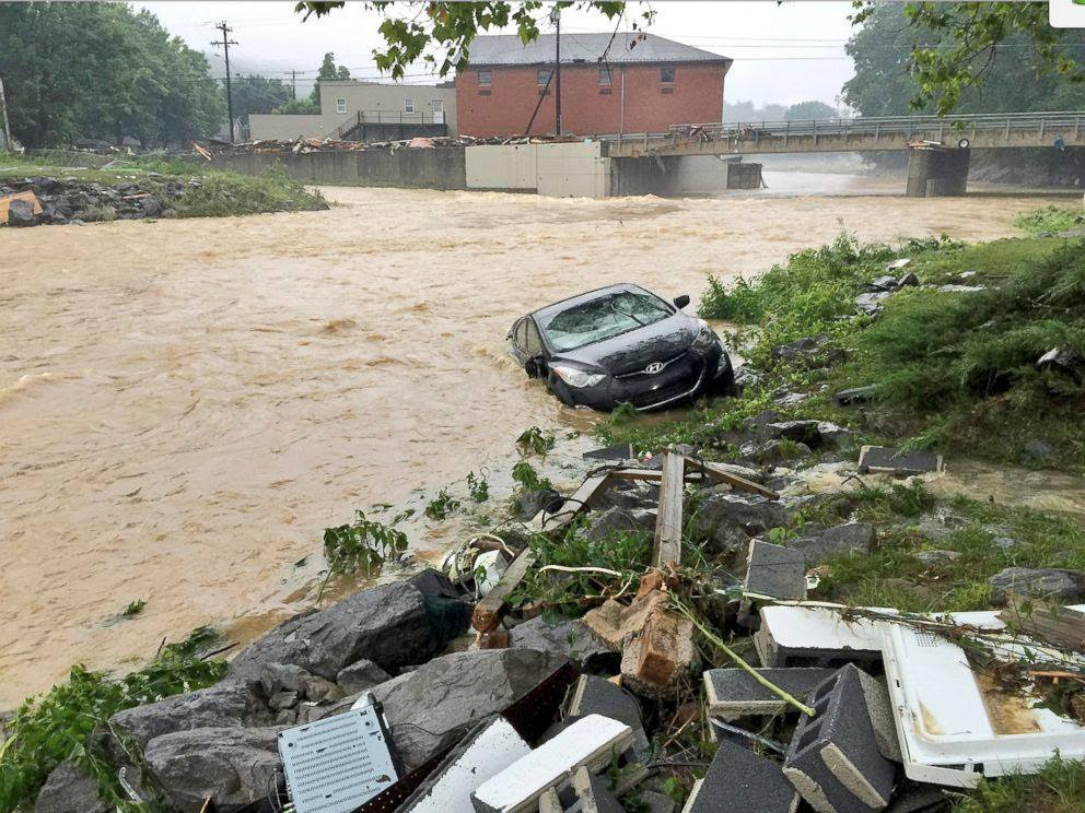 Flooding has devastated the east central region of West Virginia.