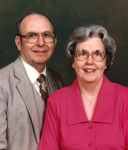 Clarence and Juanita Henderson