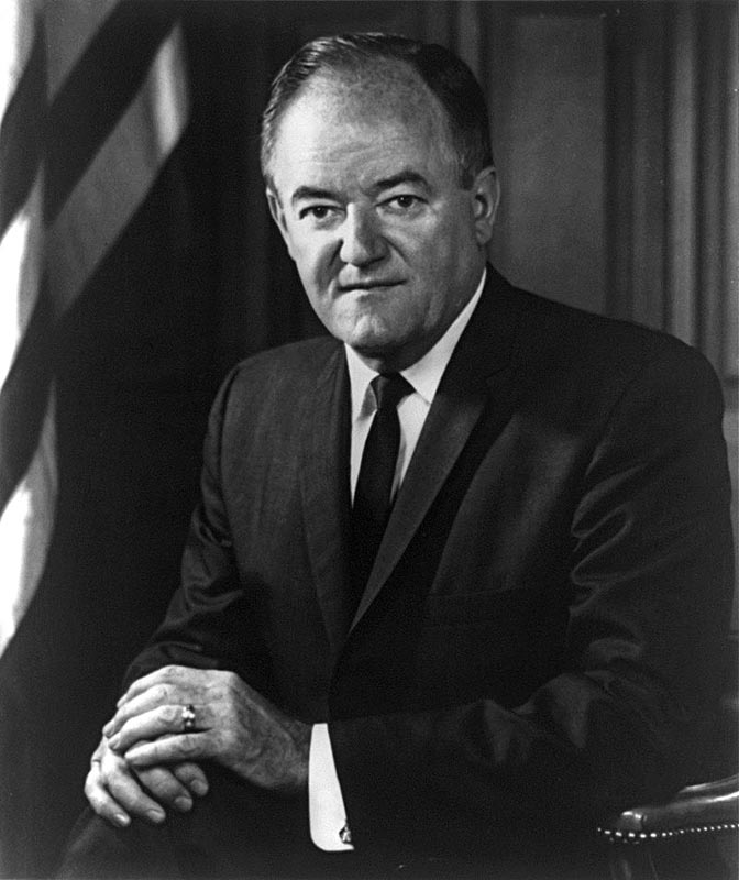 Hubert Humphrey (1911-1978) was the 38th Vice President of the United States under President Lyndon B. Johnson from 1965 to 1969.