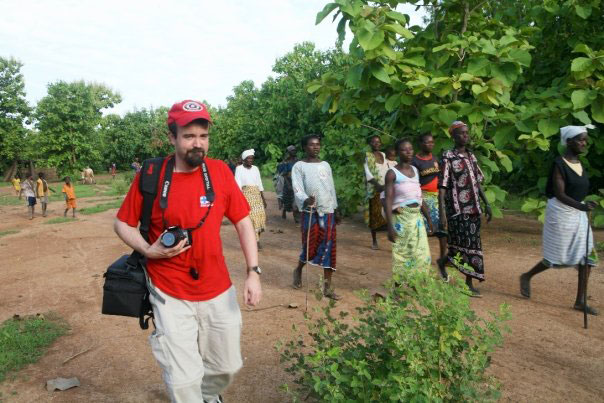 During a reporting trip to West Africa in 2009