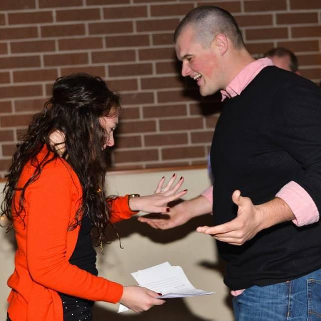 Mary Simpson and Brady Ross met at Oklahoma Christian University in Oklahoma City.