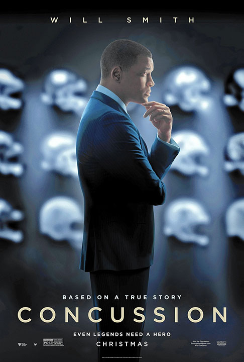 "In the upcoming film ""Concussion"