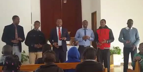 "Extol Zimbabwe performing ""It's Amazing"" for a church."