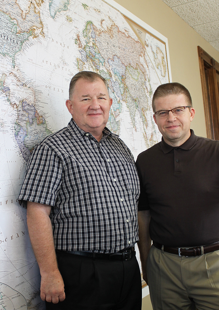 Grady King and Jon Mullican serve as co-leaders of Texas-based Hope Network Ministries.