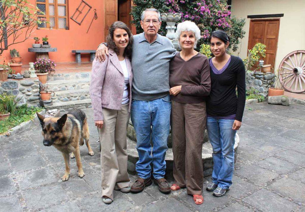 The McBride family.