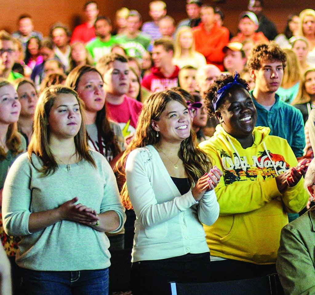At Rochester College in Michigan