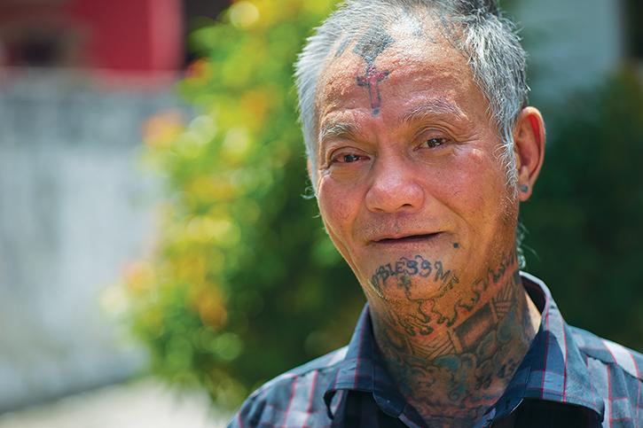 A former street thug