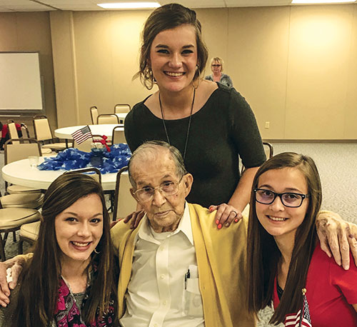 """The Secret Granddaughters ministry has """"given me a reason to want to get up and walk to the mailbox"""