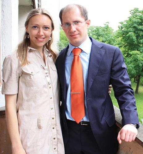 Daiva and Ilia Amosov