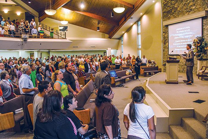 el ministro para la iglesia de Cristo Grandview en Nashville