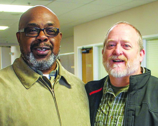 Stan Williams and  Leonard Payne are among 12 elders of the racially diverse