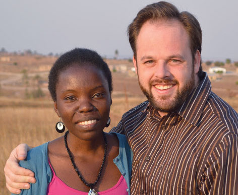 Umoyo and Nathan Holland