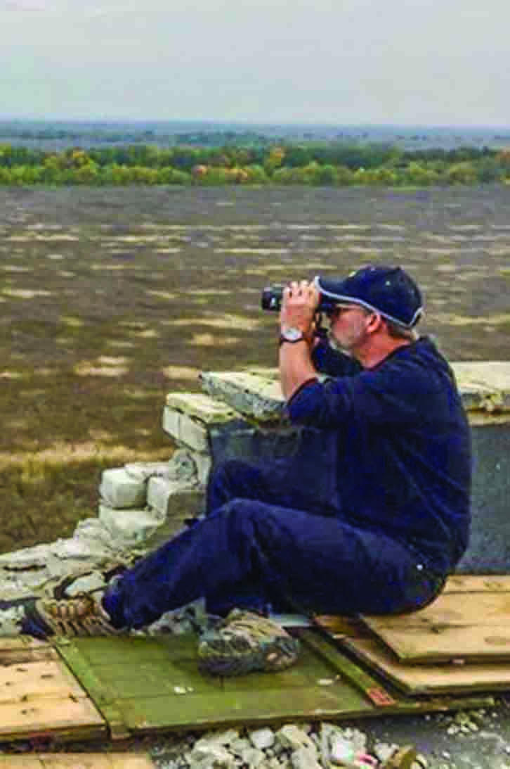 Jeff Abrams surveys the war-ravaged region in the eastern Ukrainian town of Adiivka.