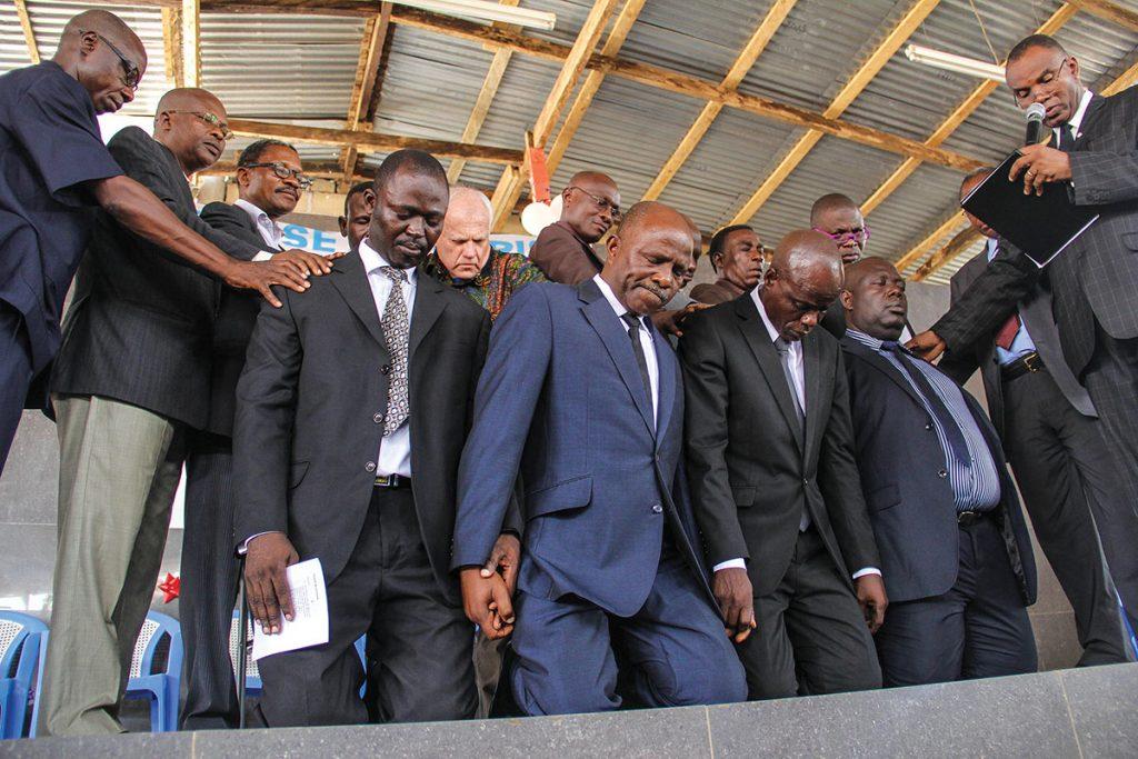 The elders of the Nukafu Church of Christ — Ishmael Saffo-Addy