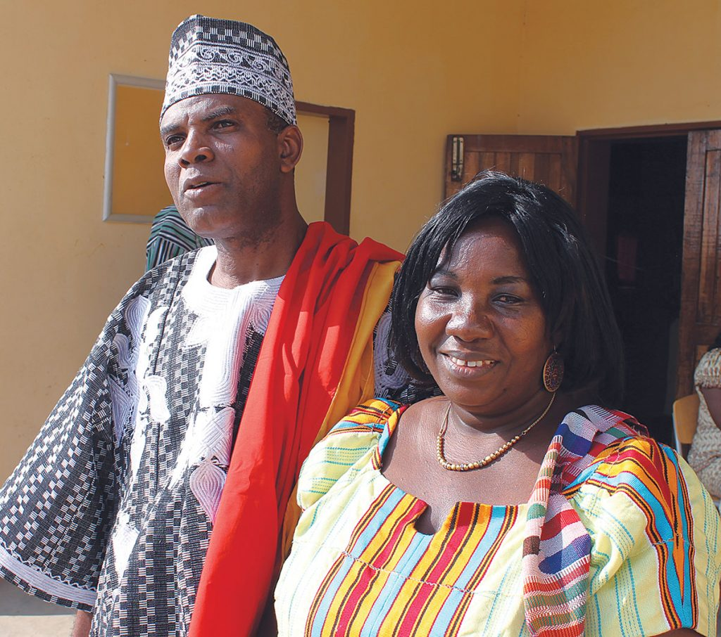 George Akpabli and his wife