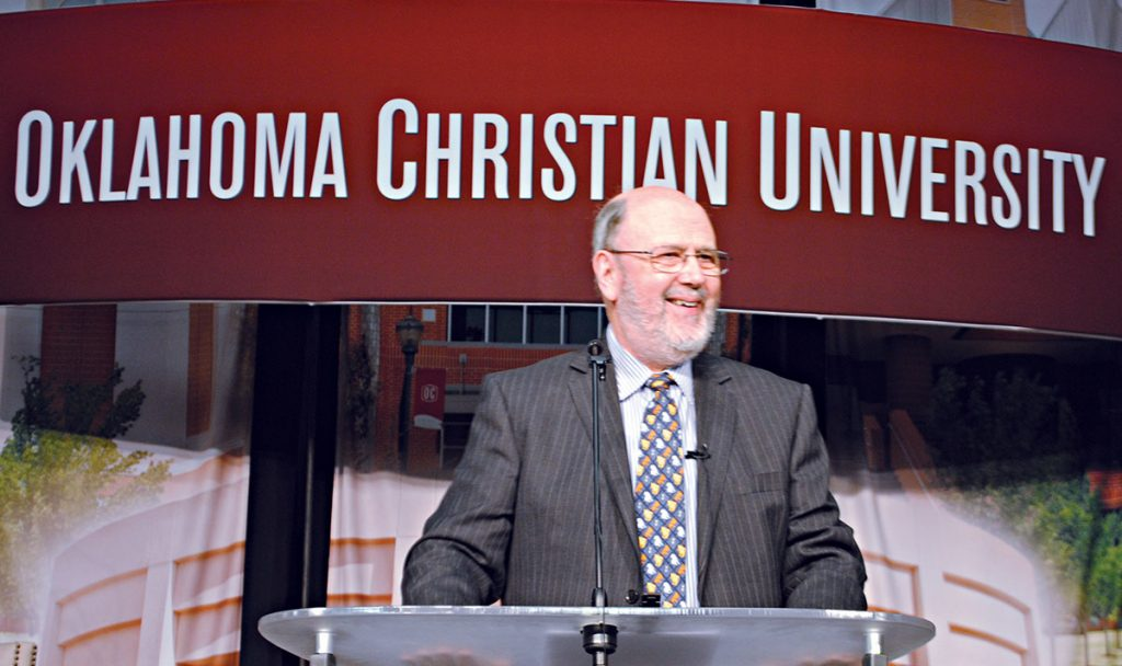 "N.T. ""Tom"" Wright speaks about truth and the Gospel at Oklahoma Christian University."