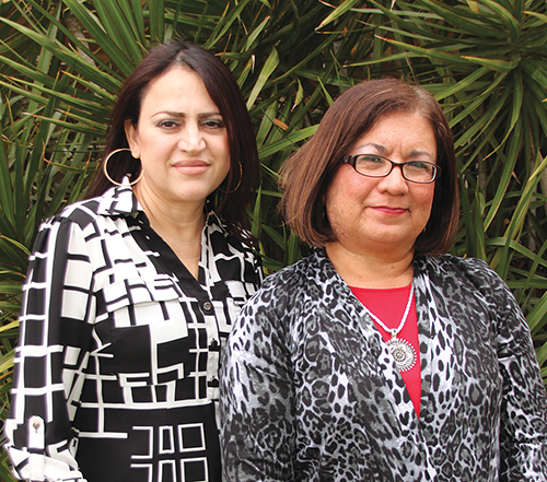 Rosie Fuentes and Elva Cerda are members of the Harvey Drive Church of Christ.