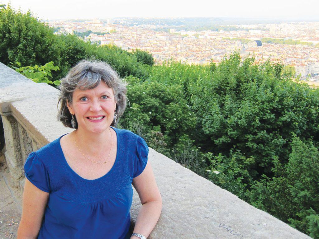 Pamela Hendrix overlooks Lyon