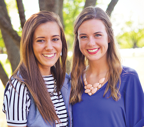 Hannah and Savannah McMillon grew up in Christian households. In school