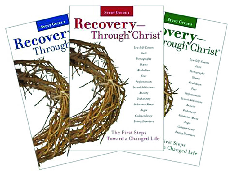 Members of the Mt. Juliet Church of Christ produced three study guides to accompany the First Steps program of the Recovery — Through Christ ministry.